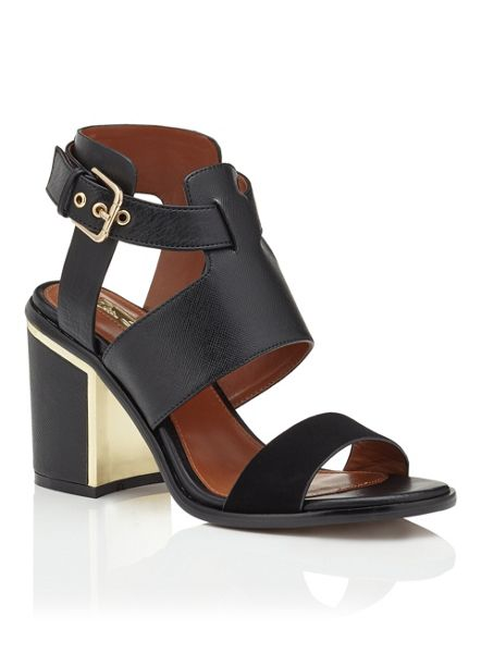 Miss Selfridge Sydney Metallic Flash Sandal