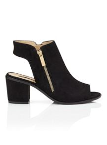 Miss Selfridge April peep toe boot