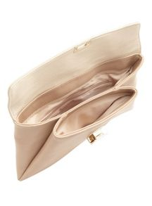 Miss Selfridge Soft Foldover Clutch