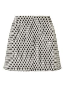 Miss Selfridge Jacquard Scallop Skirt