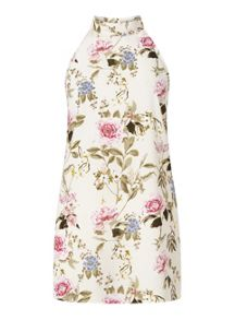 Miss Selfridge Blossom High Neck Tunic