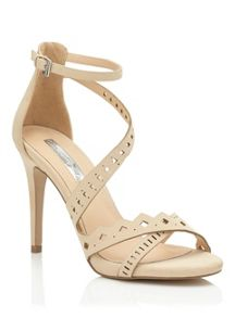 Miss Selfridge Crista Laser Cut Out Sandal