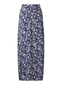Miss Selfridge Petites Ditsy Maxi Skirt