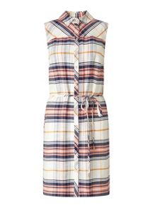 Miss Selfridge Check Shirt Dress