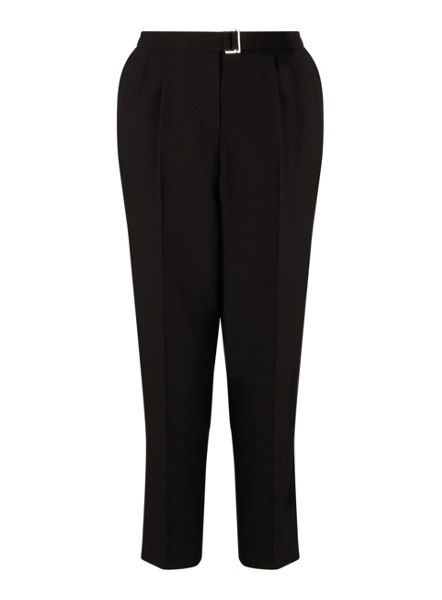 Miss Selfridge Black Peg Trouser