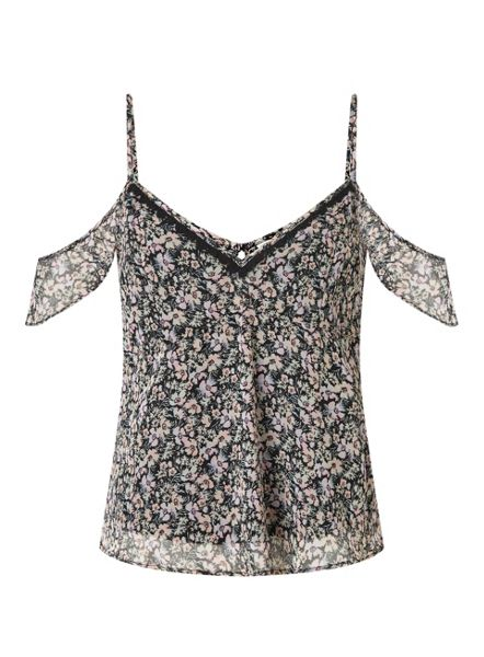 Miss Selfridge Petites Blossom Cami Top