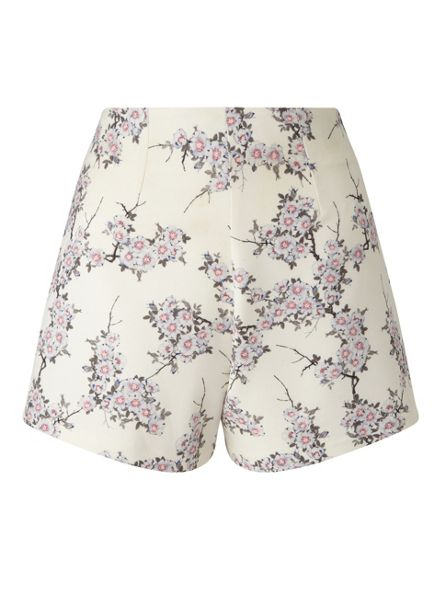 Miss Selfridge Ditsy Floral Tailored Short