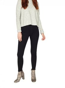 Miss Selfridge Grey Funnel Neck Jumper