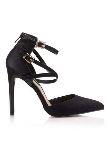 Miss Selfridge Gloria Double Strap Court