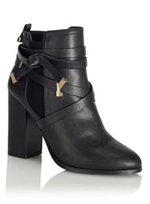 Miss Selfridge Arys Wrap Strap Boot