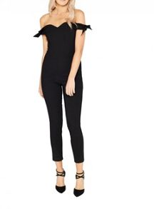 Miss Selfridge Bow Sleeve Jumpsuit