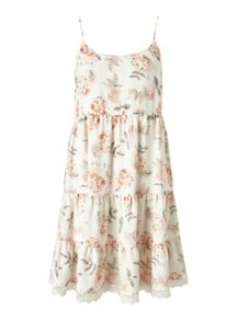 Miss Selfridge Floral Tier Sundress