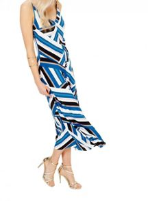 Miss Selfridge Striped Cami Maxi Dress