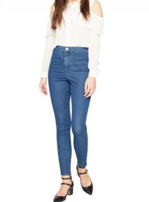 Miss Selfridge Steffi Sulphur Blue Jean