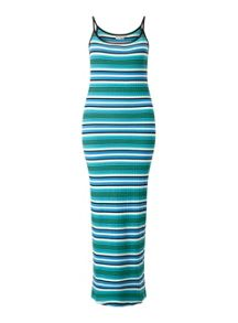 Miss Selfridge Petites Multi Stripe Dress