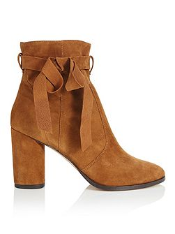 Alixe Suede Wrap Boot Tan