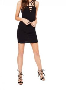 Miss Selfridge Petites Cage Bodycon Dress