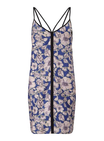 Miss Selfridge Floral Tipped Cami Dress