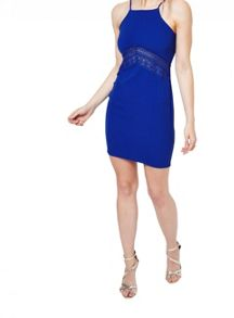 Miss Selfridge Petites Blue Lace Dress