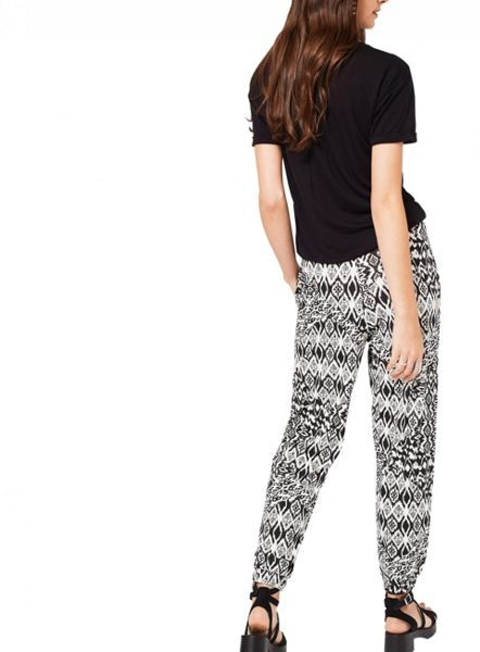 Miss Selfridge Monochrome Print Jogger