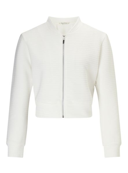 Miss Selfridge Cream Shrunken Bomber