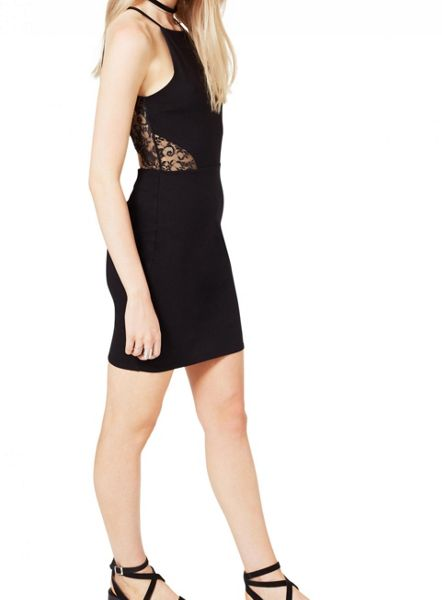 Miss Selfridge 90`S Lace Back Dress