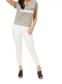 Miss Selfridge Grey La Beaute Tee