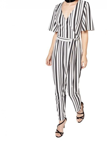 Miss Selfridge Petites Angel Sleeve Jumpsuit