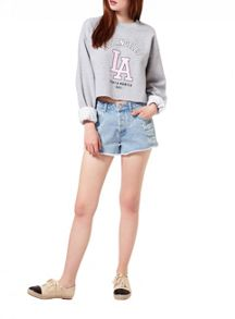 Miss Selfridge La Cropped Sweat