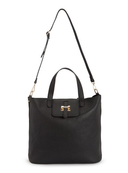 Miss Selfridge Black Slouch Bag