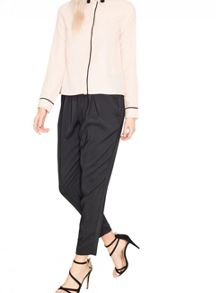 Miss Selfridge Embellished Collar Shirt