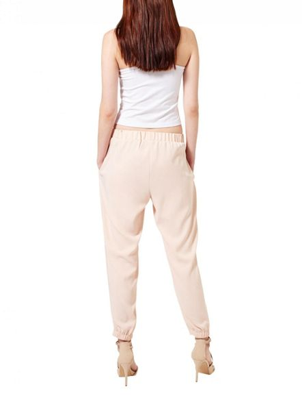 Miss Selfridge Nude Luxe Jogger