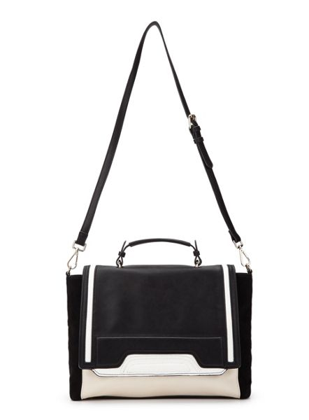 Miss Selfridge Mono Panel Tote