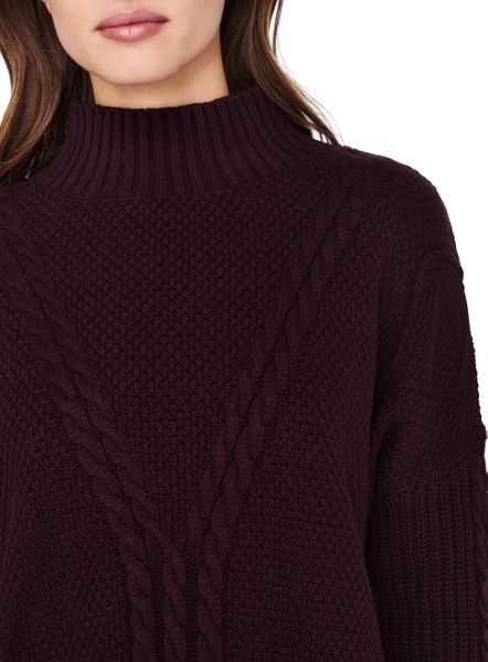 Miss Selfridge Plm Cable Chunky Jumper