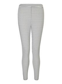 Miss Selfridge Petites Gingham Tube Trouser