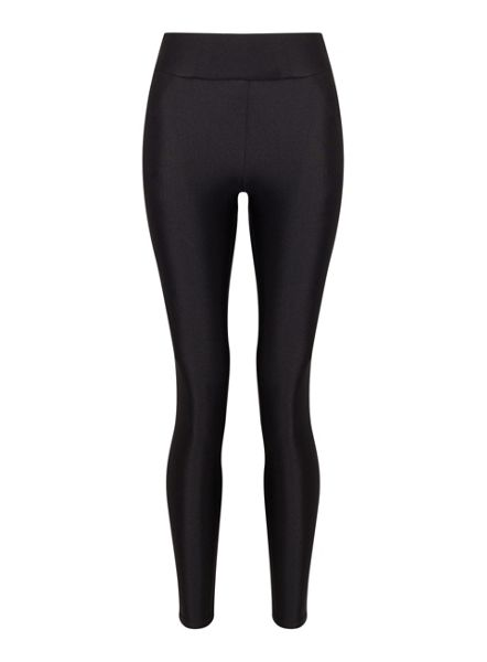 Miss Selfridge Black Shiny Legging