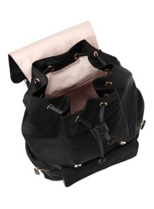 Miss Selfridge Nylon Pocket Rucksack