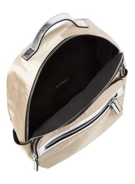 Miss Selfridge Nylon Zip Rucksack