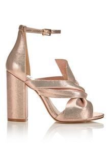 Miss Selfridge Candy Bow Sandal