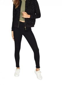 Miss Selfridge Petites Animal Bomber Jacket