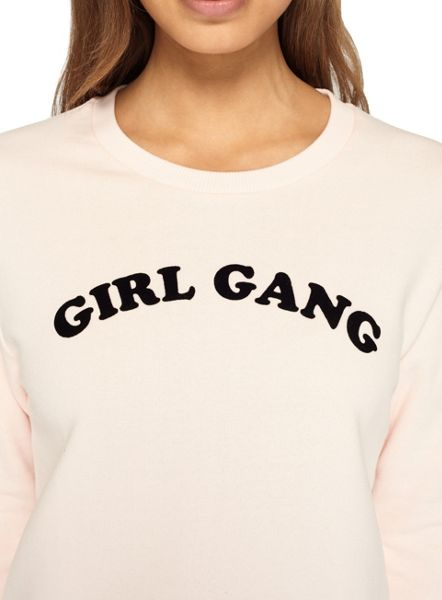 Miss Selfridge Petites Girl Gang Sweatshirt