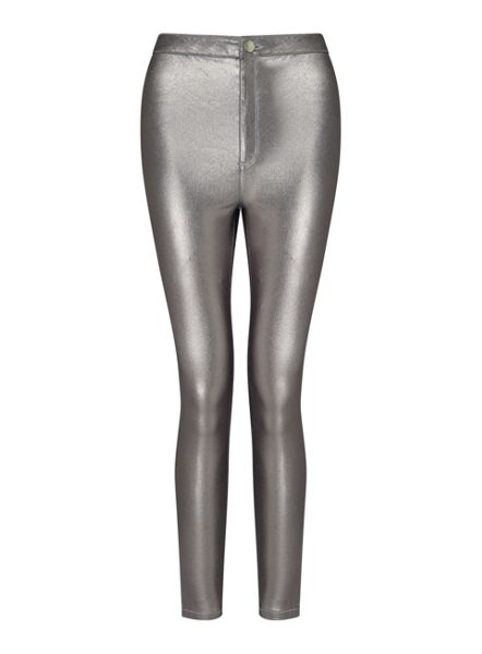 Miss Selfridge Steffi Metallic Jean