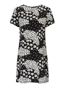 Miss Selfridge Petites Monochrome Tee Dress