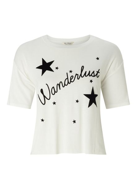 Miss Selfridge Wanderlust Tee