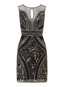 Miss Selfridge Black Eva Bodycon Dress