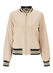 Miss Selfridge Squad Goals Bomber Jacket