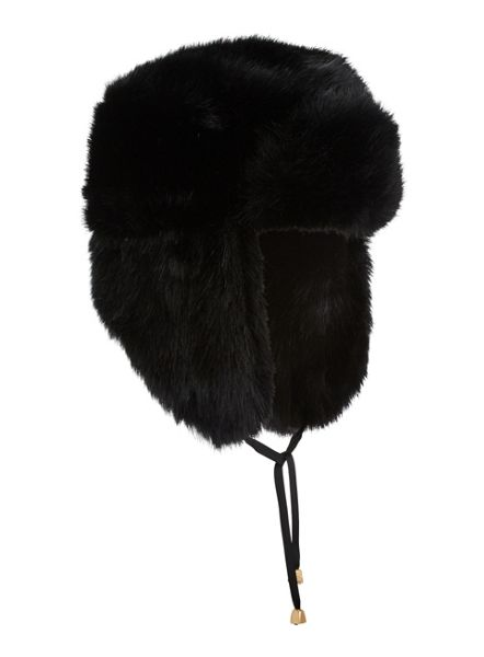 Miss Selfridge Fur Trapper Hat
