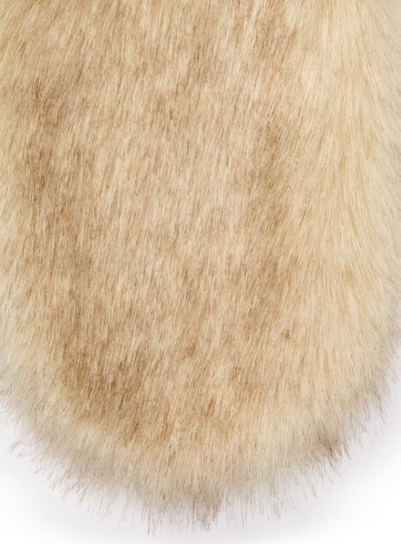 Miss Selfridge Natural Fur Stole