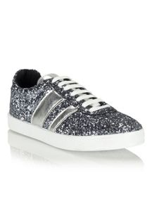 Miss Selfridge Ellen Stripe Trainer