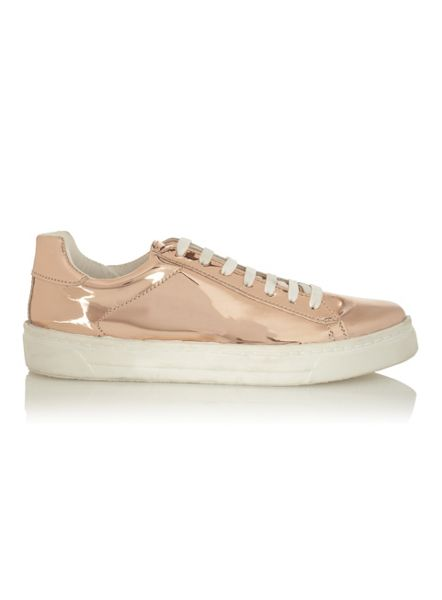 Miss Selfridge Evelyn Lace Up Trainers